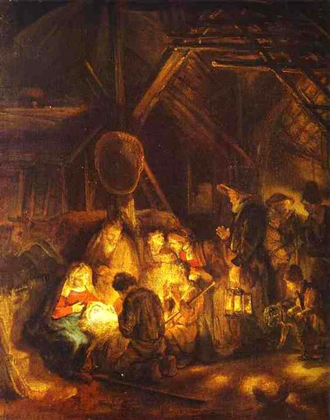 Hirten Bilder Weihnachten.Das Wort Vom Kind Weihnachten Weihnachtskrippen